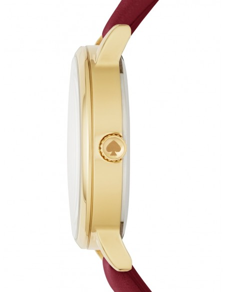 Chic Time | Montre Femme Kate Spade Metro KSW1191 Rouge  | Prix : 159,20€