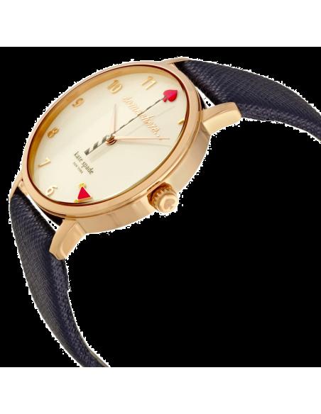 Chic Time   Montre Femme Kate Spade Metro KSW1040 Bleu    Prix : 159,20€