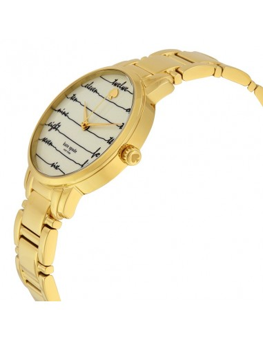 Chic Time | Montre Femme Kate Spade Gramercy KSW1060 Or  | Prix : 183,20 €