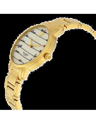 Chic Time   Montre Femme Kate Spade Gramercy KSW1060 Or    Prix : 183,20€