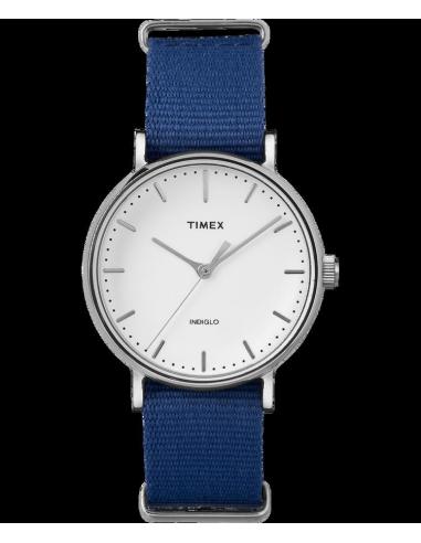 Chic Time | Montre Femme Timex Weekender Fairfield TW2P982009J Bleu  | Prix : 47,20€