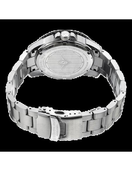 Chic Time   Montre Homme Stuhrling Original Aquadiver 328B.33111 Argent    Prix : 106,59€