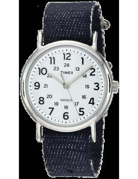 Chic Time | Montre Femme Timex Weekender TW2R106009J Bleu  | Prix : 39,20€