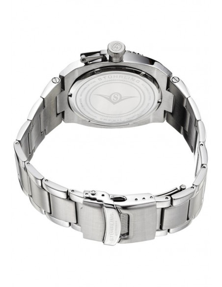 Chic Time | Montre Homme Stuhrling Original Aquadiver 410.331113 Argent  | Prix : 167,99€