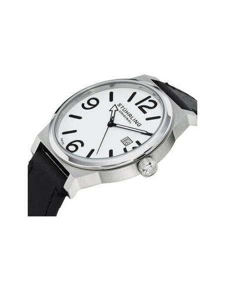 Chic Time | Montre Homme Stuhrling Original Aviator 454.33152 Noir  | Prix : 111,30€