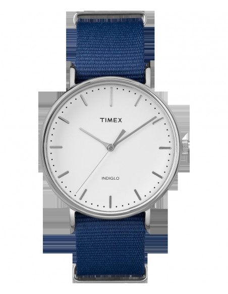 Chic Time | Montre Homme Timex Weekender Fairfield TW2P977009J Bleu  | Prix : 47,20€