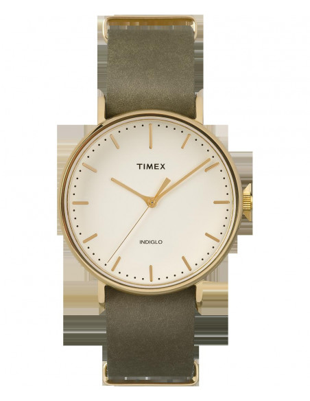 Chic Time | Montre Homme Timex Weekender Fairfield TW2P980009J Vert  | Prix : 55,20€