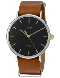 Chic Time | Montre Homme Timex Weekender Fairfield TW2P979009J Marron  | Prix : 89,10 €