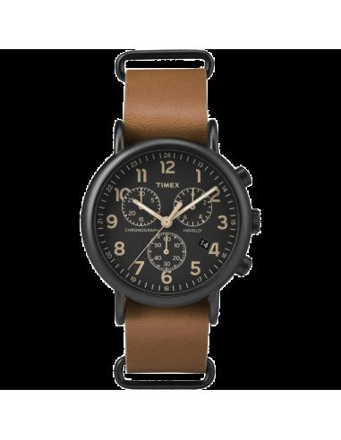 Chic Time | Montre Homme Timex Weekender TW2P975009J Marron  | Prix : 71,20€