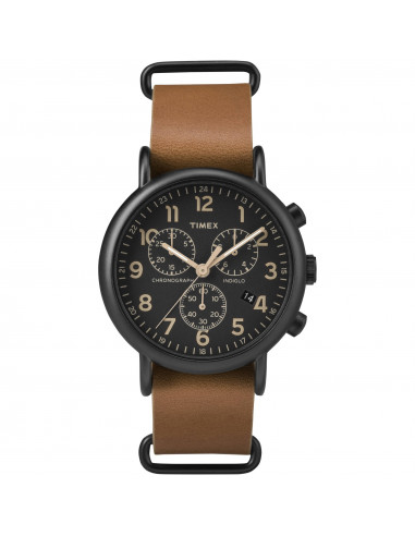 Chic Time | Montre Homme Timex Weekender TW2P975009J Marron  | Prix : 71,20 €
