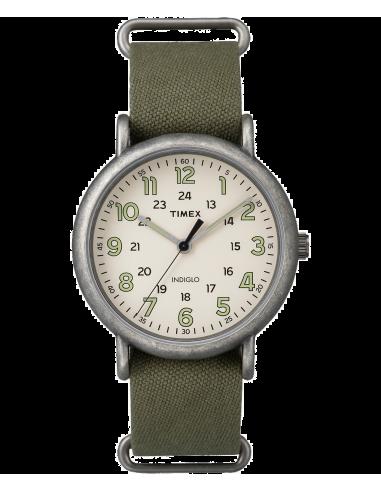 Chic Time | Montre Homme Timex Weekender TW2P859009J Vert  | Prix : 47,20€