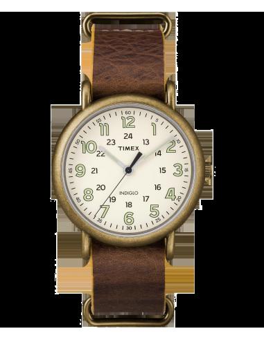 Chic Time | Montre Homme Timex Weekender TW2P857009J Marron  | Prix : 47,20€