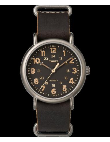 Chic Time | Montre Homme Timex Weekender TW2P858009J Marron  | Prix : 47,20€