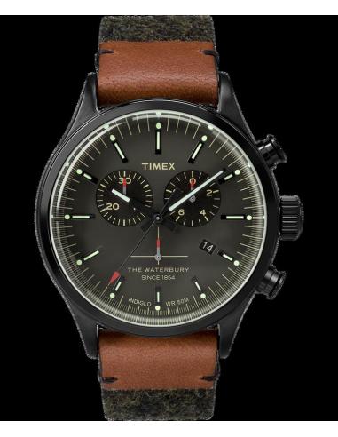 Chic Time | Montre Homme Timex Waterbury TW2P95500ZA Noir  | Prix : 103,20€