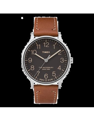 Chic Time | Montre Homme Timex Waterbury TW2P95800ZA Marron  | Prix : 71,20€