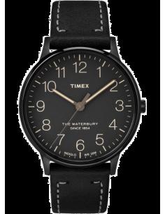 Chic Time | Montre Homme Timex Waterbury TW2P95900ZA Noir  | Prix : 142,43€