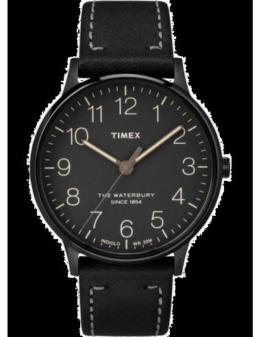 Chic Time   Montre Homme Timex Waterbury TW2P95900ZA Noir    Prix : 89,00€