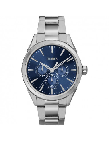 Chic Time   Montre Homme Timex Chesapeake TW2P969009J Argent    Prix : 63,20€