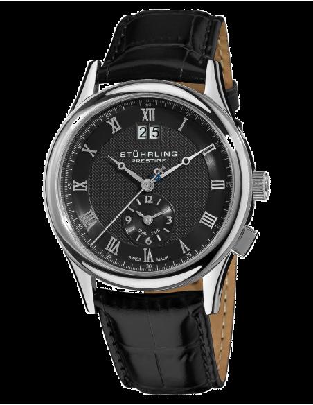Chic Time | Montre Homme Stührling Original 364.33151 Noir  | Prix : 385,90€