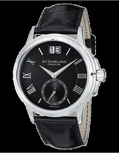 Chic Time | Montre Homme Stuhrling Original Monaco 384.33151 Noir  | Prix : 427,90€