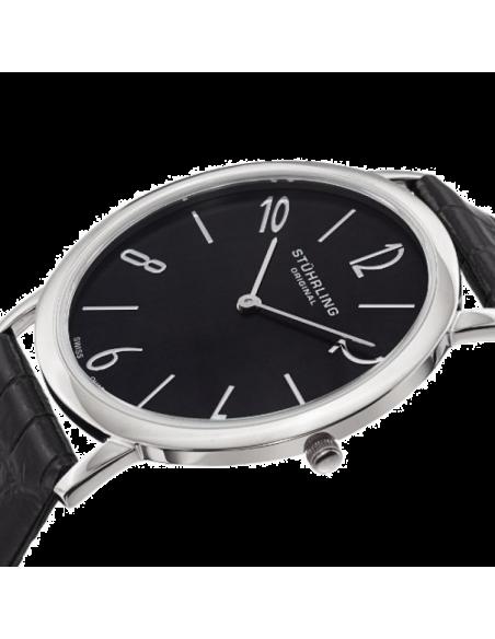 Chic Time | Montre Homme Stuhrling Original Symphony 140.33151 Noir  | Prix : 107,49€