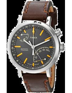 Chic Time | Montre Homme Timex Metropolitan TW2P92300ZA Marron  | Prix : 143,20€
