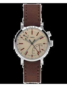 Chic Time | Montre Homme Timex Metropolitan TW2P92400ZA Marron  | Prix : 143,20€