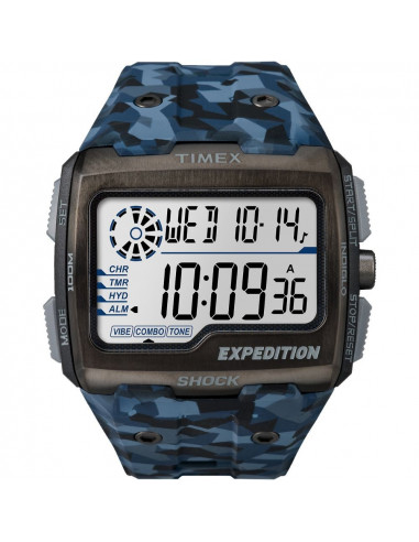 Chic Time | Montre Homme Timex Expedition TW4B071009J Bleu  | Prix : 79,20€