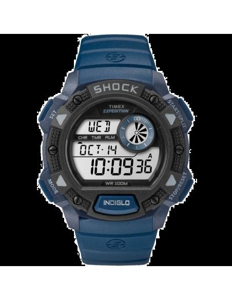 Chic Time | Montre Homme Timex Expedition TW4B074009J Bleu  | Prix : 47,20€