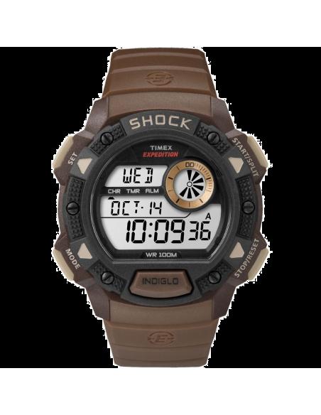 Chic Time | Montre Homme Timex Expedition TW4B075009J Marron  | Prix : 47,20€