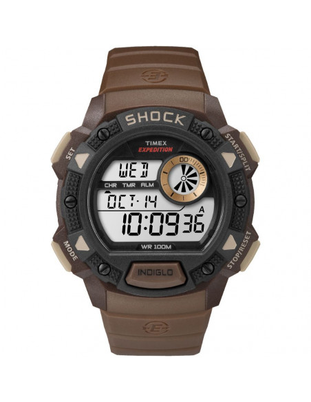 Chic Time | Montre Homme Timex Expedition TW4B075009J Marron  | Prix : 47,20 €
