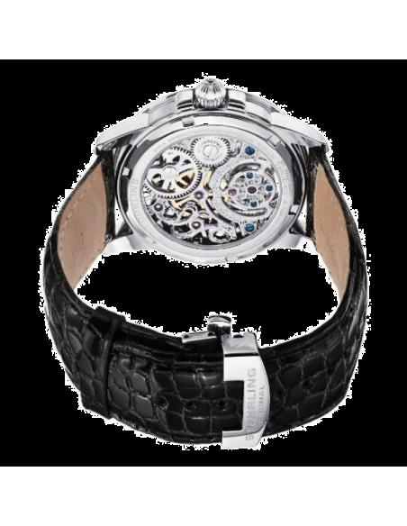 Chic Time | Montre Homme Stuhrling Original Tourbillon 213T.331X2 Noir  | Prix : 5,082.90