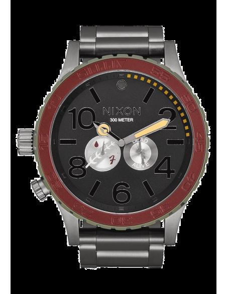Chic Time | Montre Homme Nixon 51-30 SW A172SW-2241 Gris  | Prix : 890,90€