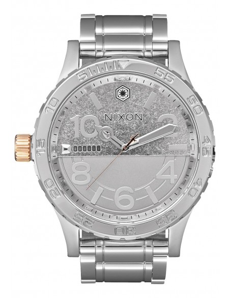 Chic Time | Montre Homme Nixon 51-30 SW A172SW-2445 Argent  | Prix : 899,99€