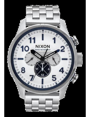 Chic Time   Montre Homme Nixon Safari A1081-130 Argent    Prix : 599,99€
