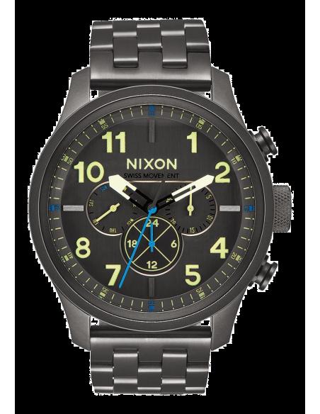 Chic Time | Montre Homme Nixon Safari A1081-1418 Gris  | Prix : 679,99€