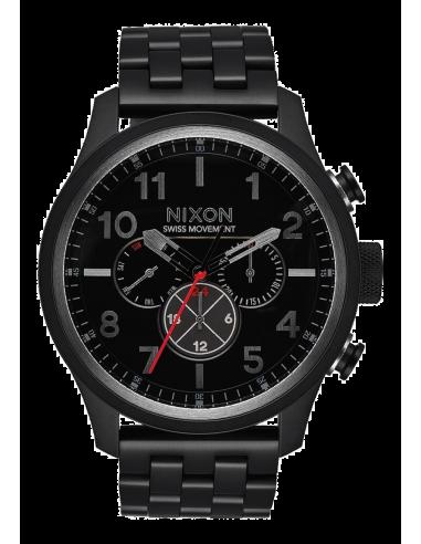 Chic Time | Montre Homme Nixon Safari A1081-001 Noir  | Prix : 679,99€