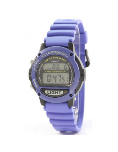 Chic Time | Montre Mixte Casio Collection LW-22H-2AVES Bleu  | Prix : 32,10€
