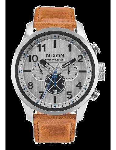 Chic Time | Montre Homme Nixon Safari A1082-2092 Marron  | Prix : 350,00€