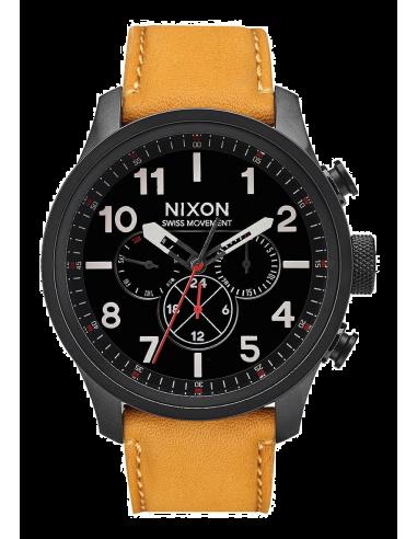 Chic Time | Montre Homme Nixon Safari A1082-2448 Marron  | Prix : 350,00€