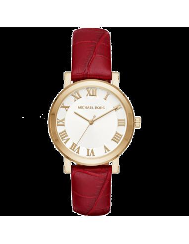 Chic Time   Montre Femme Michael Kors Norie MK2618 Rouge    Prix : 199,00€