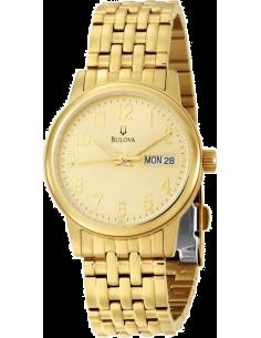 Chic Time | Montre Homme Bulova Champagne Emeritus Bracelet 97C47  | Prix : 133,13€