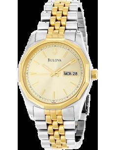 Chic Time | Montre Homme Bulova Day-Date Bracelet 98C002  | Prix : 202,90€