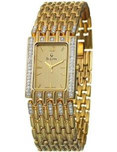 Chic Time | Montre Homme Bulova Cristal Champagne 98A57  | Prix : 323,75€