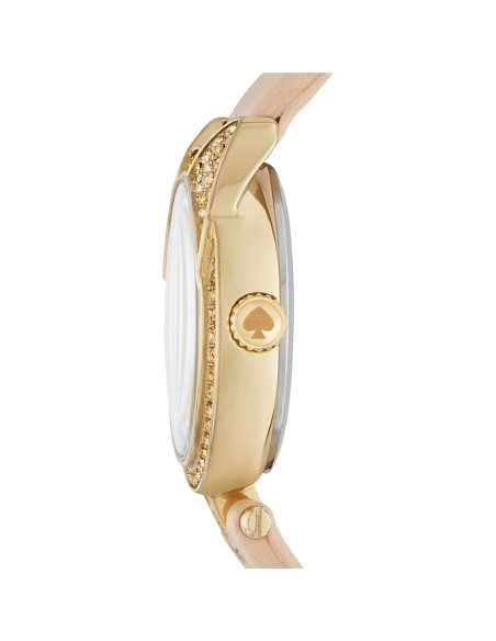 Chic Time | Montre Femme Kate Spade Metro KSW1151 Beige  | Prix : 183,20 €