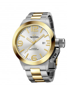Chic Time | Montre Homme TW Steel Canteen Bracelet CB31  | Prix : 429,00€
