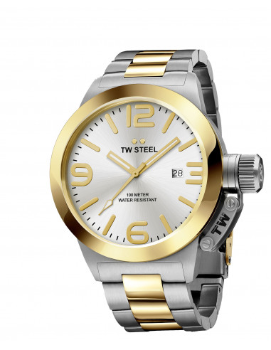 Chic Time | Montre Homme TW Steel Canteen Bracelet CB31  | Prix : 299,90€