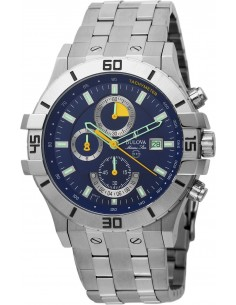Chic Time | Montre Homme Bulova Chronographe Marine Star 96B115  | Prix : 328,90€