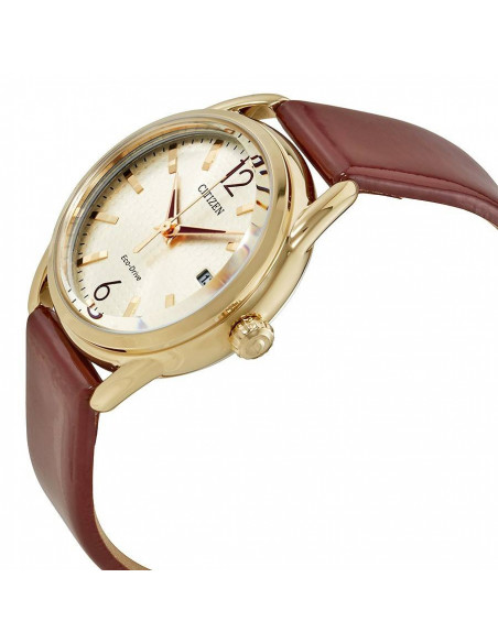 Chic Time | Montre Femme Citizen FE6083-05P Marron  | Prix : 149,40 €