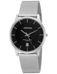 Chic Time | Montre Homme Armitron 20/5123BKSV Argent  | Prix : 39,20€